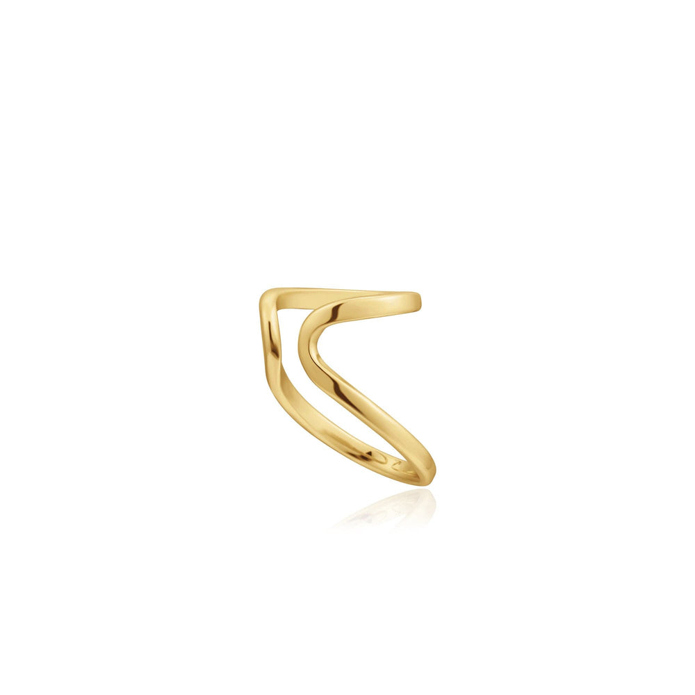 Gold Double Ear Cuff