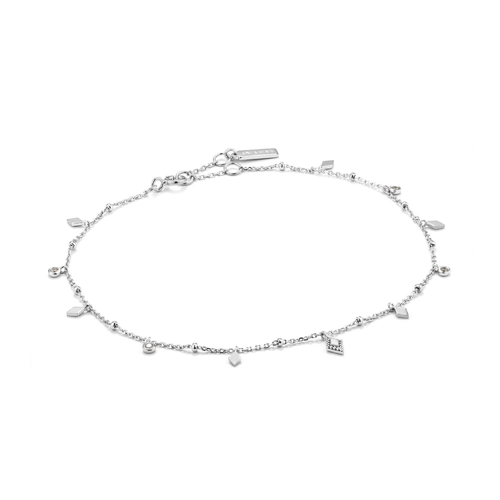 Load image into Gallery viewer, Silver Bohemia Anklet