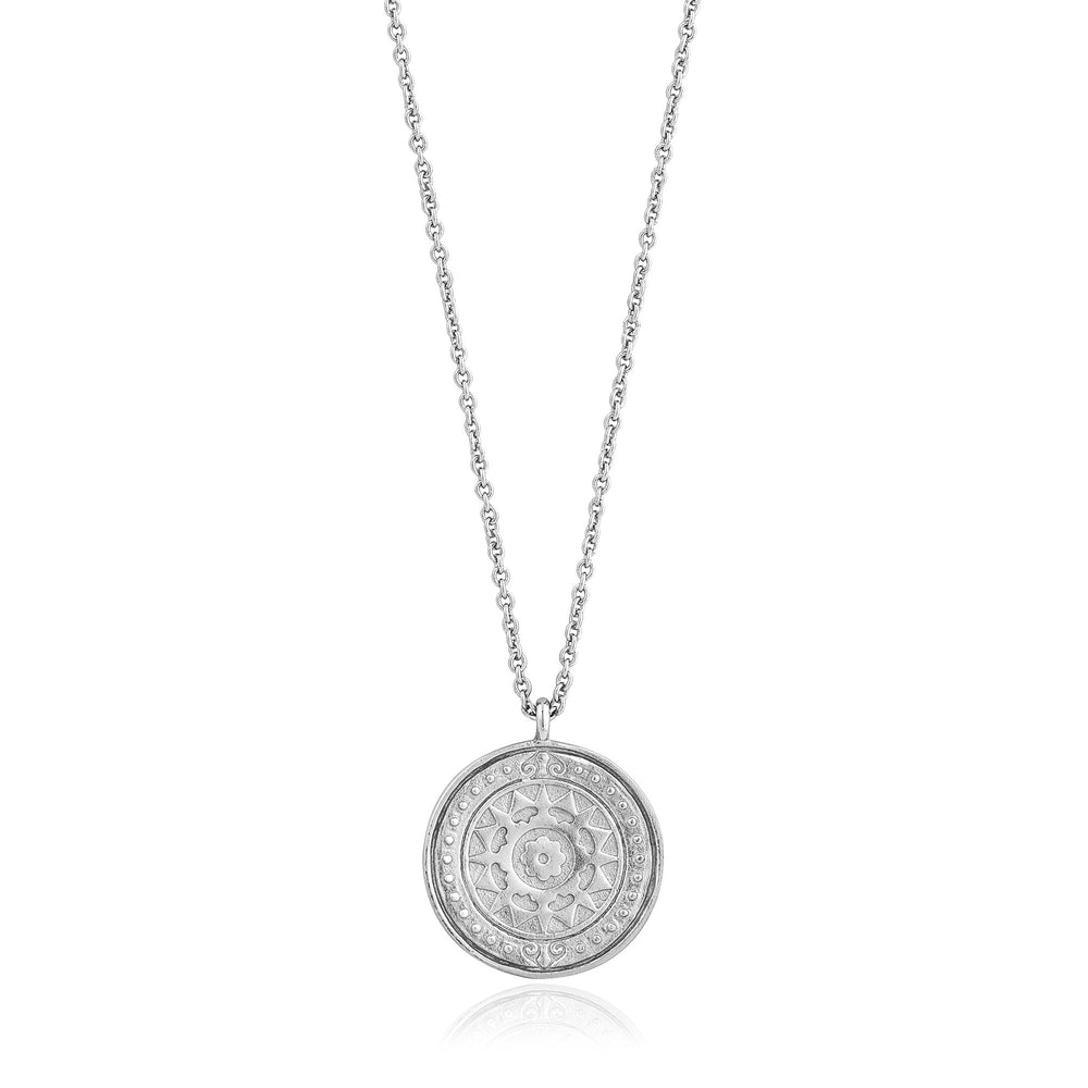 Load image into Gallery viewer, Silver Verginia Sun Necklace