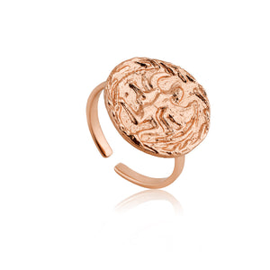 Rose Gold Boreas Adjustable Ring