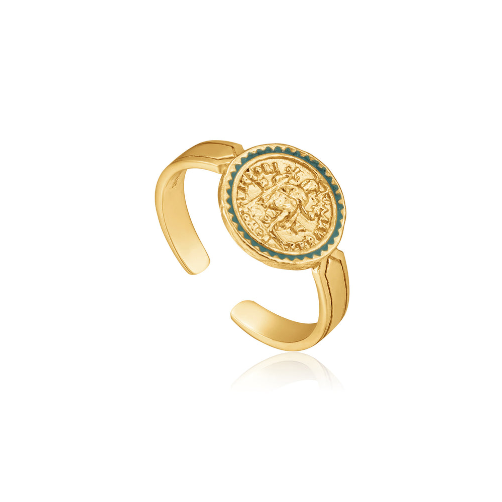 Gold Emperor Adjustable Ring