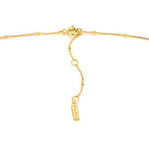 Gold Victory Goddess Necklace