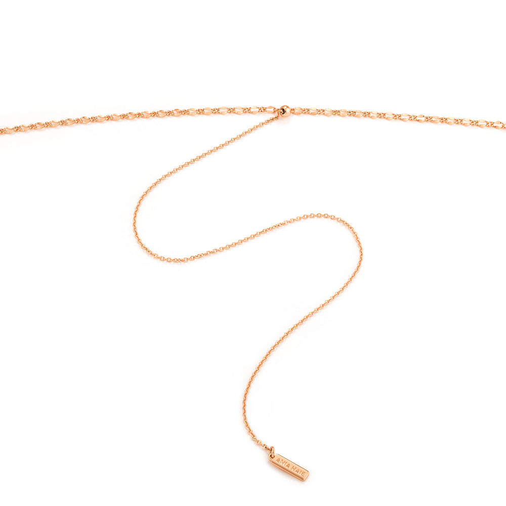 Rose Gold Roman Empress Necklace