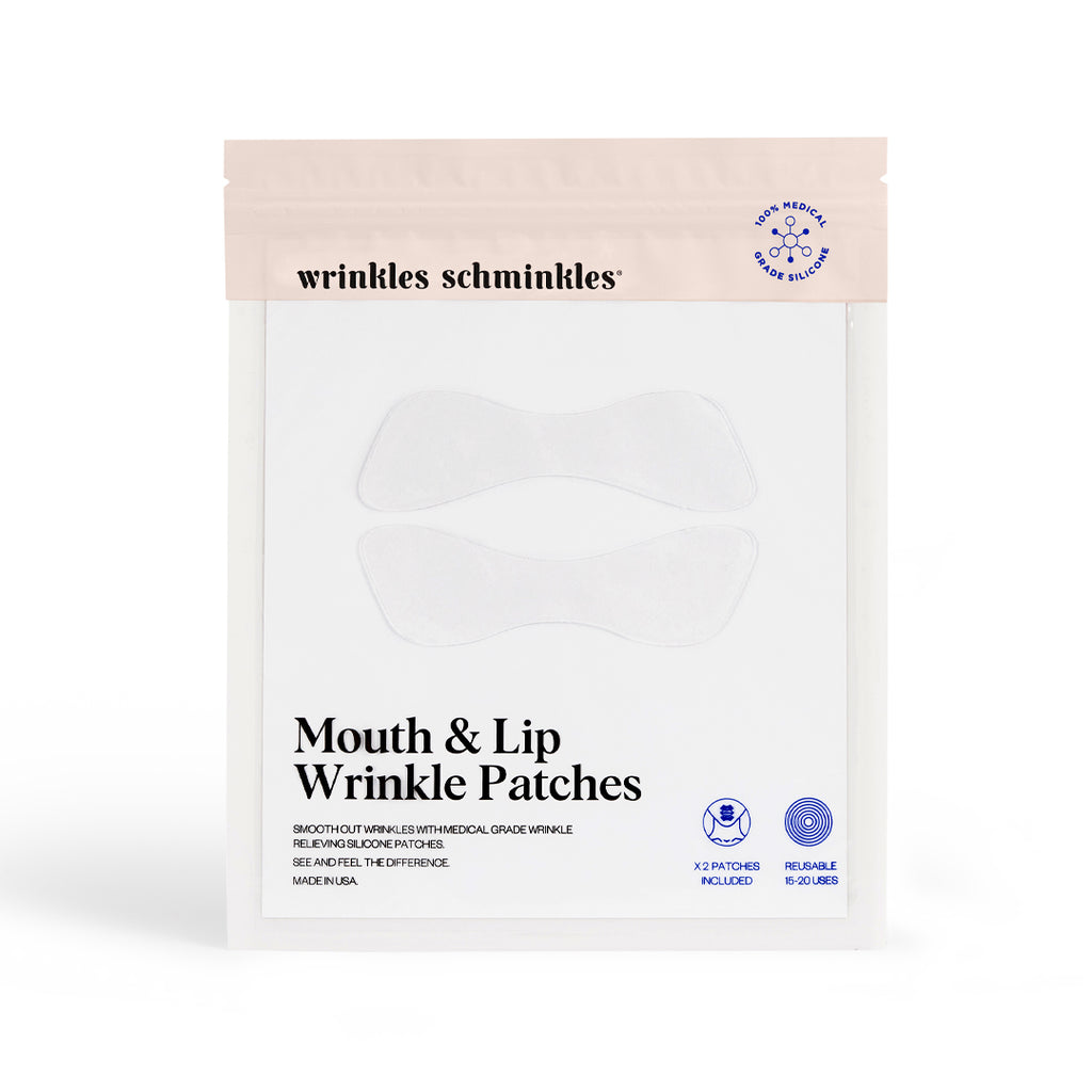 marionette lines lip lines silicone patches for wrinkles