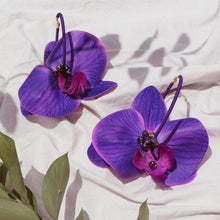 Load image into Gallery viewer, Orchid Purple Hoops