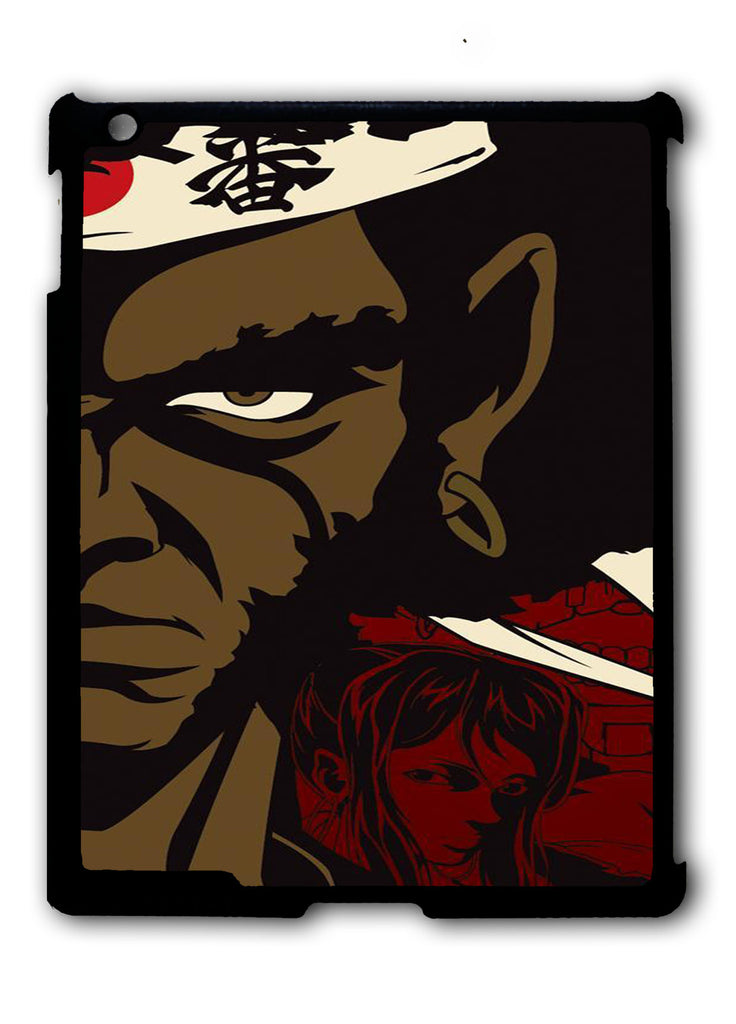 Afro Samurai iPad 2 3 4, iPad Mini 1 2 3 , iPad Air 1 2, iPad Pro 9.7 12.9 Case