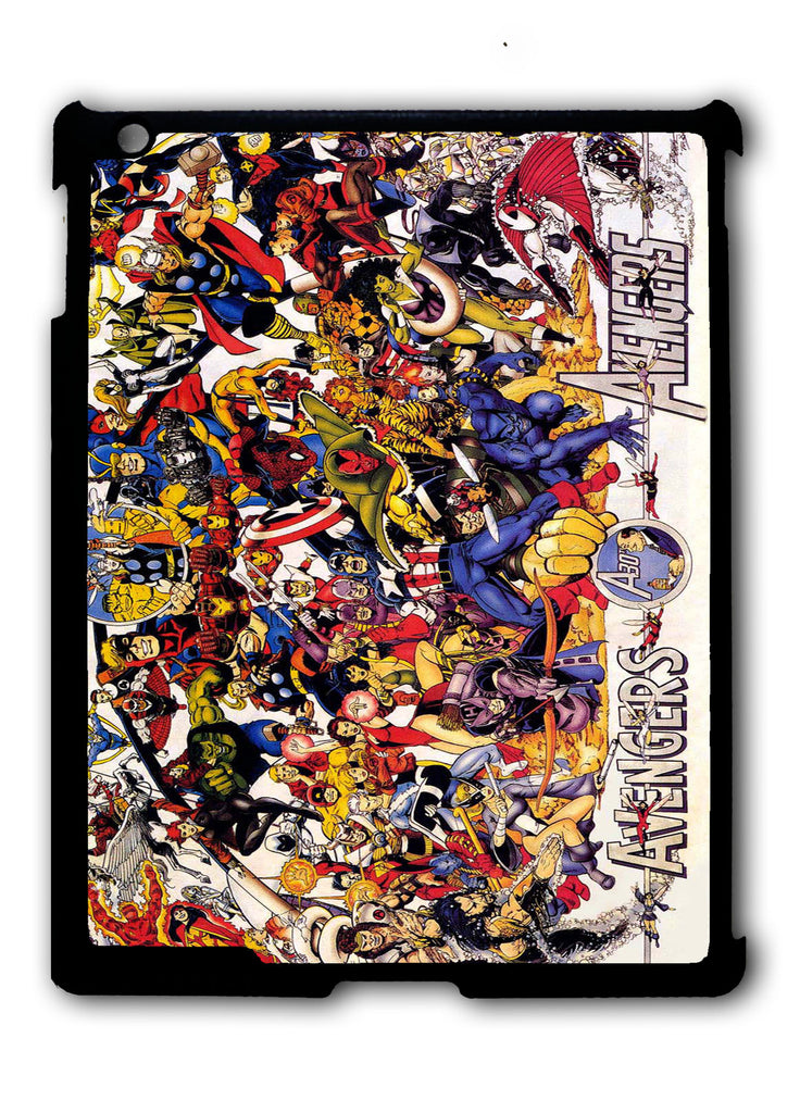 All Characters Avengers iPad 2 3 4, iPad Mini 1 2 3 , iPad Air 1 2, iPad Pro 9.7 12.9 Case