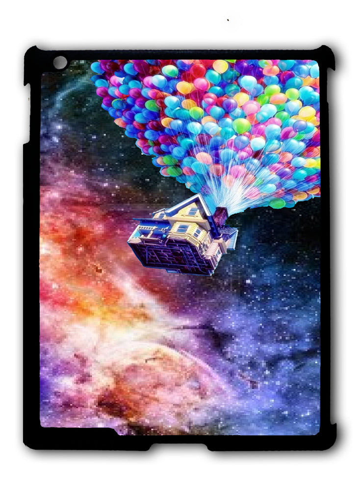 Balloons Uo Flying to The Galaxy iPad 2 3 4, iPad Mini 1 2 3 , iPad Air 1 2, iPad Pro 9.7 12.9 Case