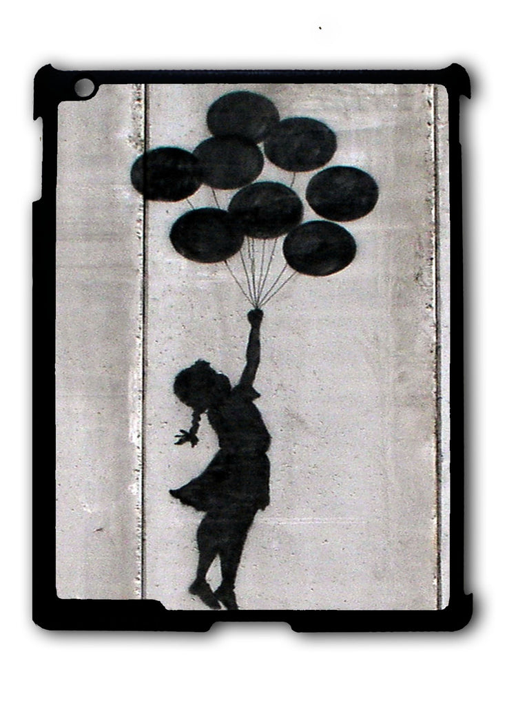 Banksy Balloon Girl iPad 2 3 4, iPad Mini 1 2 3 , iPad Air 1 2, iPad Pro 9.7 12.9 Case