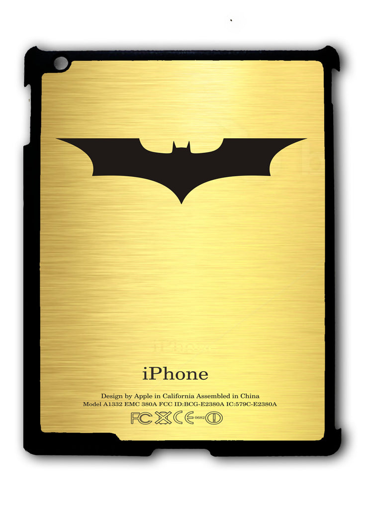 Batman Begins Logo iPad 2 3 4, iPad Mini 1 2 3 , iPad Air 1 2, iPad Pro 9.7 12.9 Case