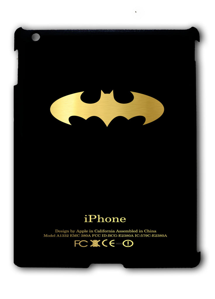 Batman Logo iPad 2 3 4, iPad Mini 1 2 3 , iPad Air 1 2, iPad Pro 9.7 12.9 Case