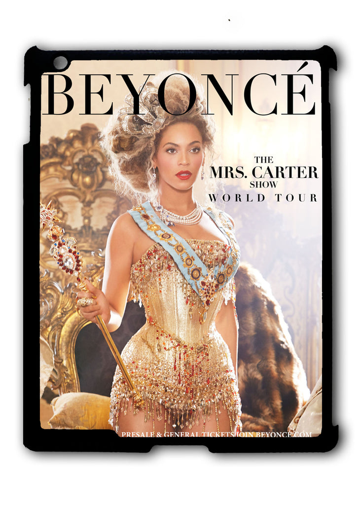 Beyoncé Mrs. Carter World Tour iPad 2 3 4, iPad Mini 1 2 3 , iPad Air 1 2, iPad Pro 9.7 12.9 Case