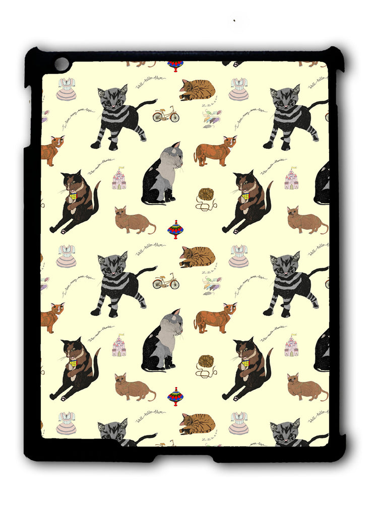 Cats 2 iPad 2 3 4, iPad Mini 1 2 3 , iPad Air 1 2, iPad Pro 9.7 12.9 Case