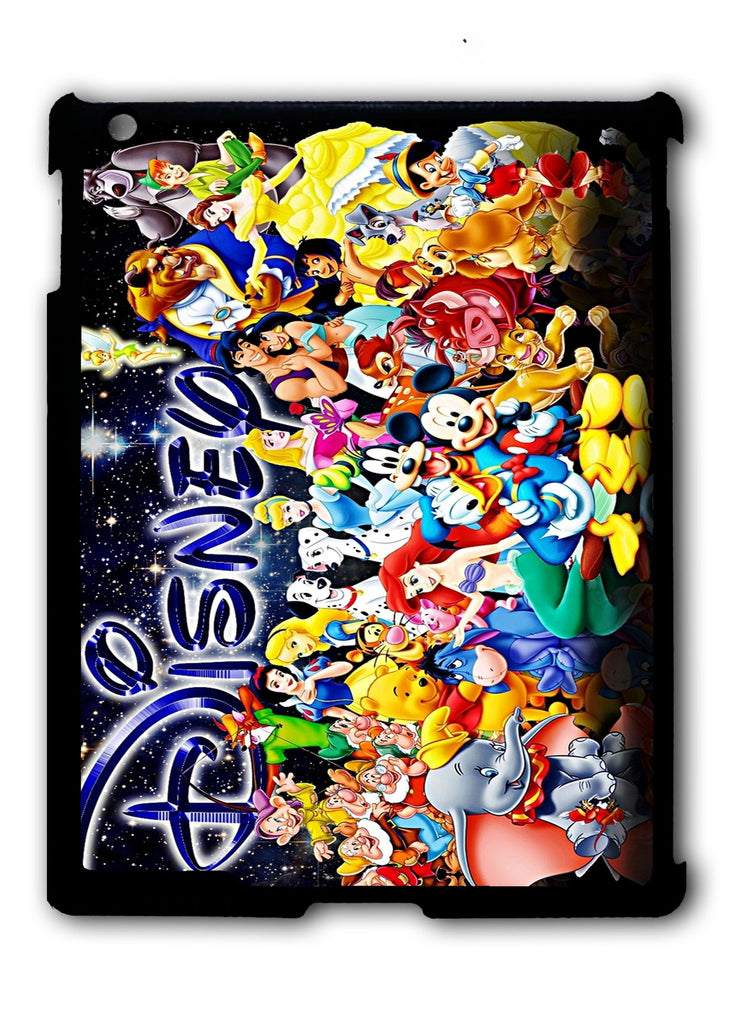 Characters Disney iPad 2 3 4, iPad Mini 1 2 3 , iPad Air 1 2, iPad Pro 9.7 12.9 Case