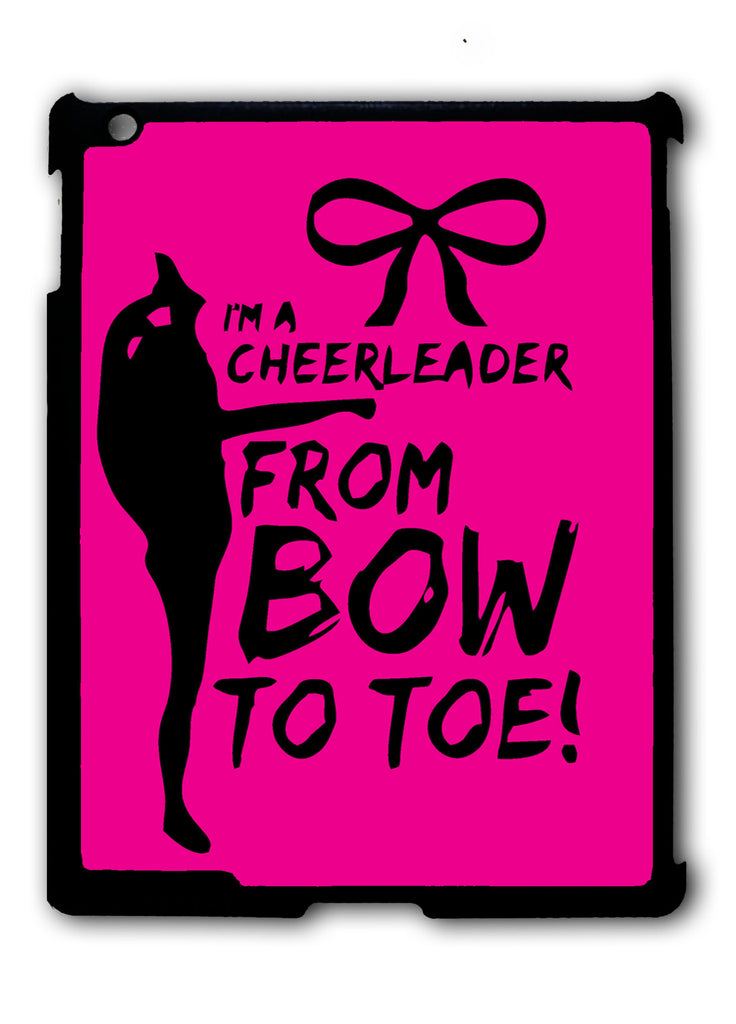 Cheers Cheerleader Bow To Toe iPad 2 3 4, iPad Mini 1 2 3 , iPad Air 1 2, iPad Pro 9.7 12.9 Case