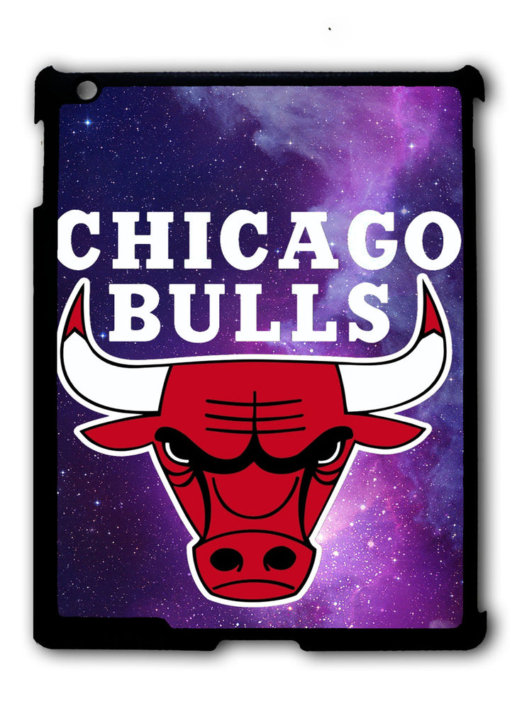 Chicago Bulls In Space Galaxy iPad 2 3 4, iPad Mini 1 2 3 , iPad Air 1 2, iPad Pro 9.7 12.9 Case