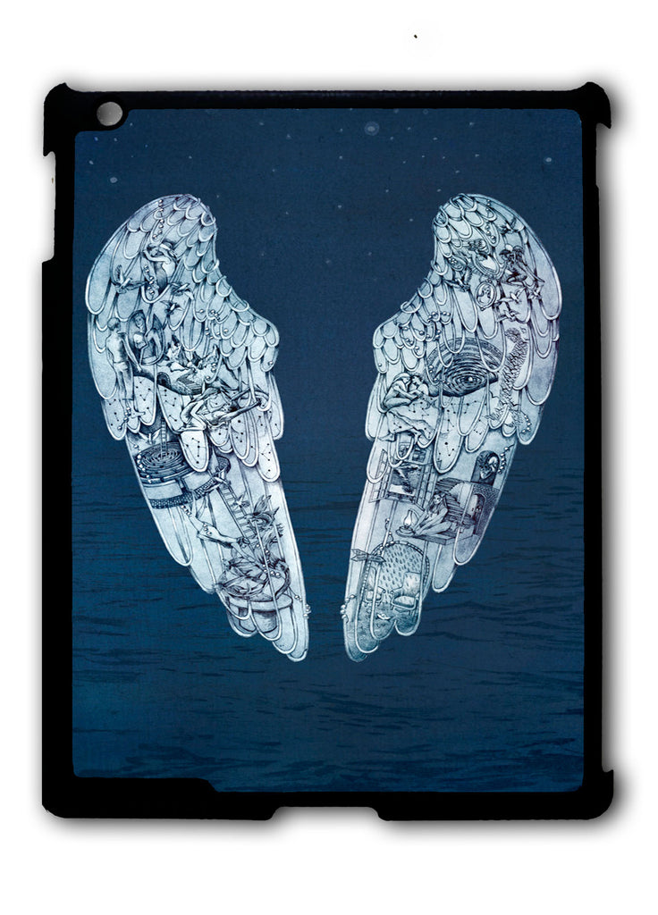 Coldplay Ghost Stories Logo iPad 2 3 4, iPad Mini 1 2 3 , iPad Air 1 2, iPad Pro 9.7 12.9 Case