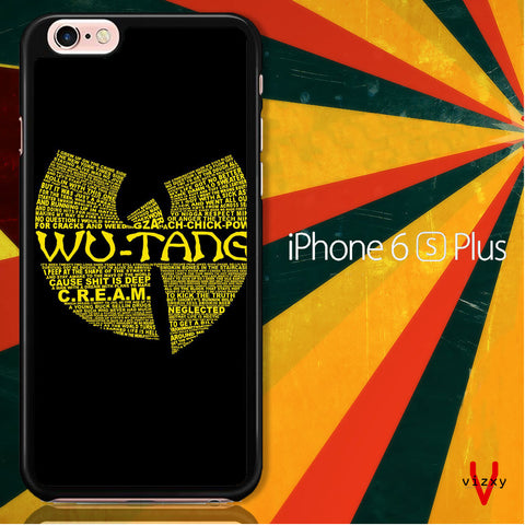 Wu Tang Quote Logo iPhone 6 Plus | 6S Plus Case