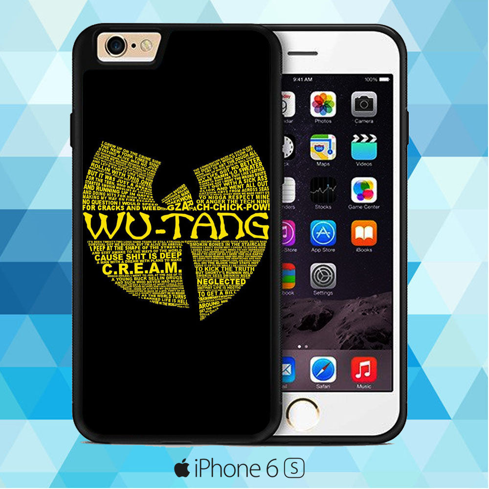 Wu Tang Quote Logo iPhone 6 | iPhone 6S Case
