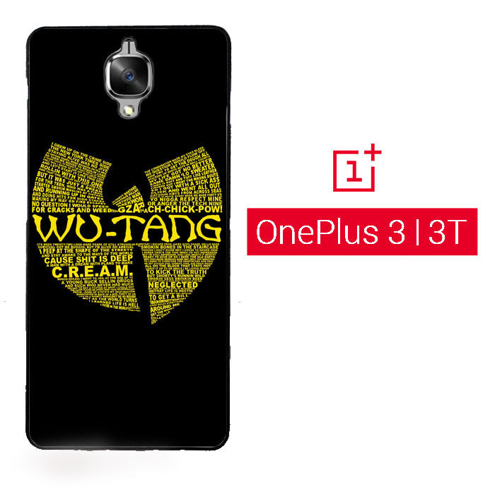 Wu Tang Quote Logo OnePlus 3 | OnePlus 3T Case