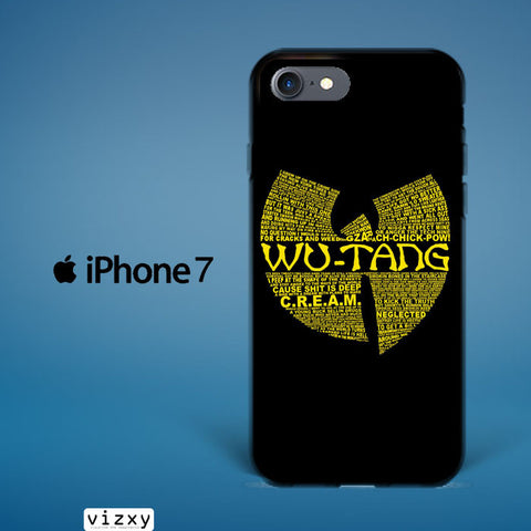 Wu Tang Quote Logo iphone 7  Case