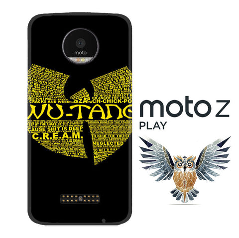 Wu Tang Quote Logo Motorola Moto Z Play 3D Full Print  Case