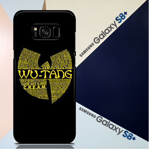 Wu Tang Quote Logo Samsung Galaxy S8 Plus  Case