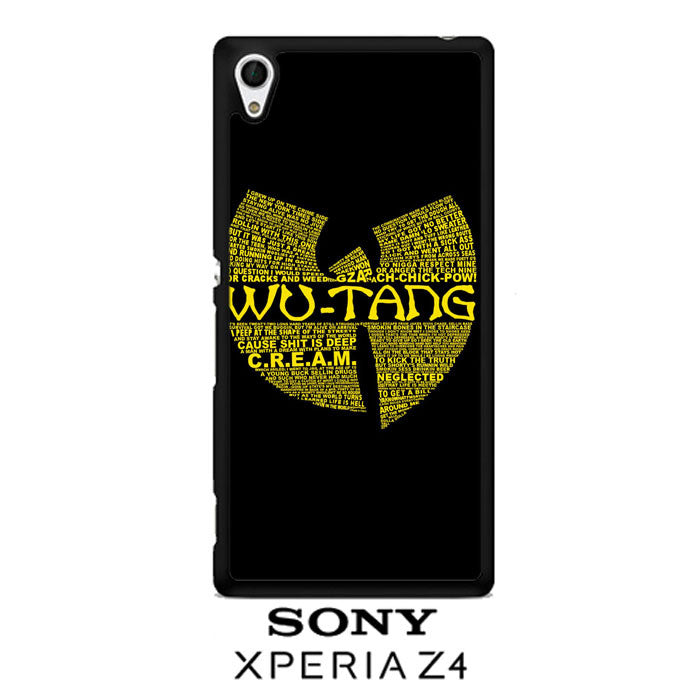 Wu Tang Quote Logo Sony Xperia Z4  Case