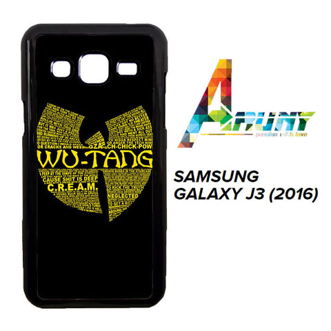 Wu Tang Quote Logo Samsung Galaxy J3 2016 / SM-J310  Case
