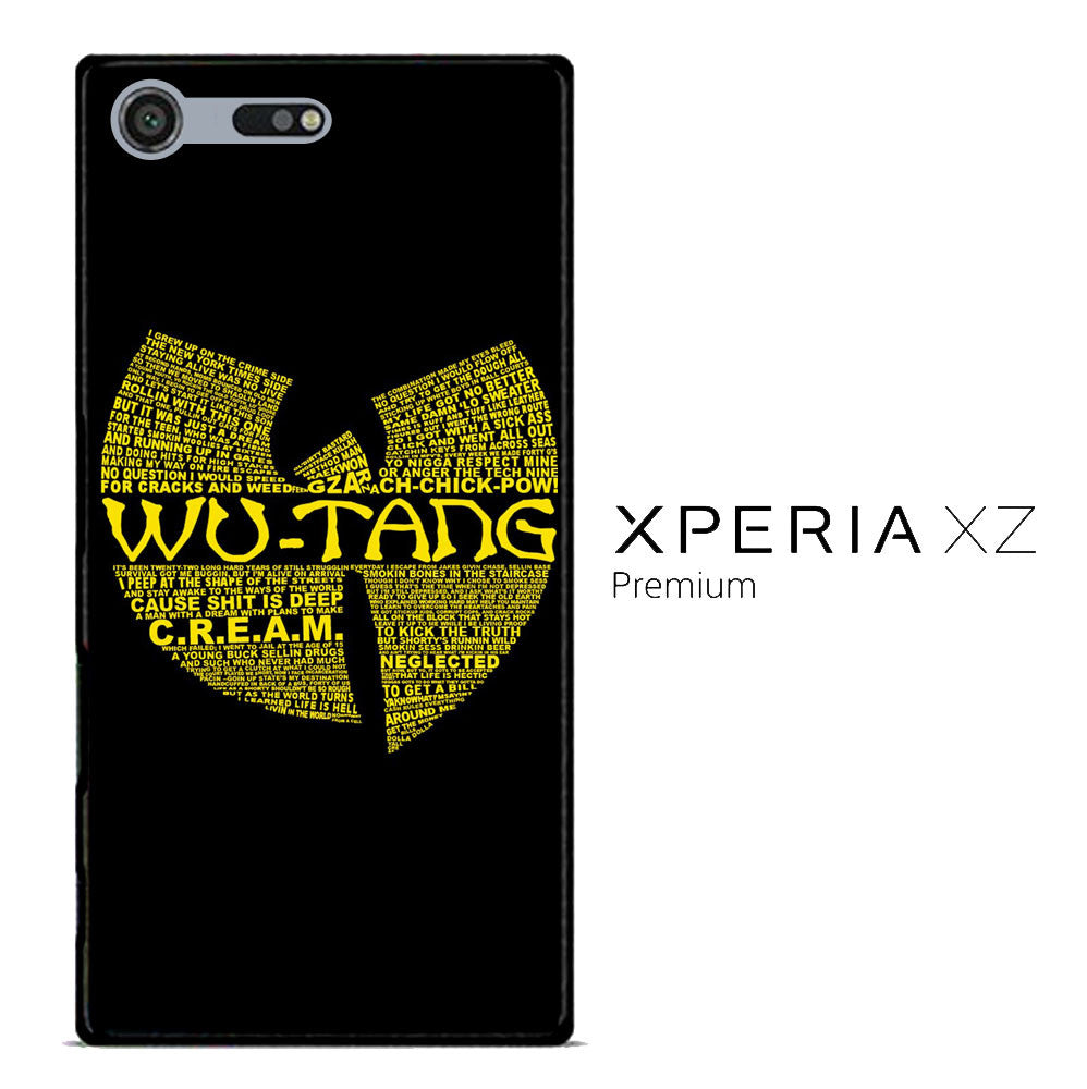 Wu Tang Quote Logo Sony Xperia XZ Premium  Case