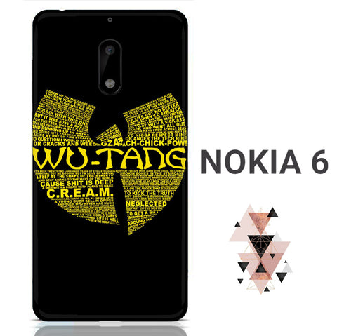 Wu Tang Quote Logo Nokia 6 3D Full Print  Case