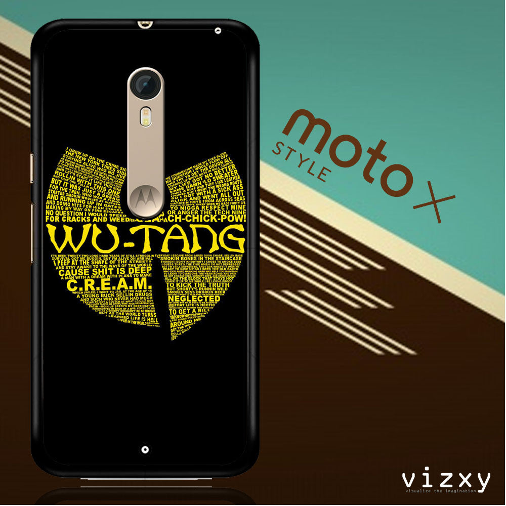 Wu Tang Quote Logo Moto X Style  Case