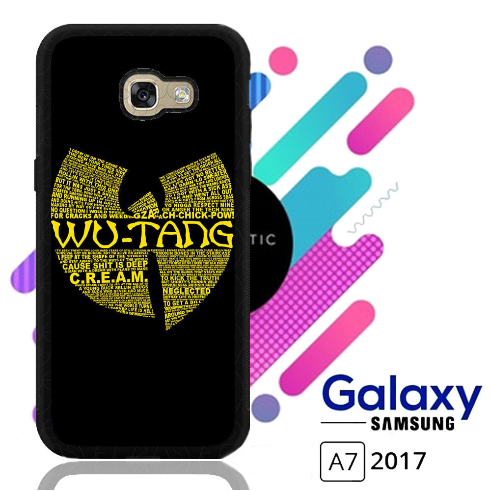 Wu Tang Quote Logo Samsung Galaxy A7 2017  Case