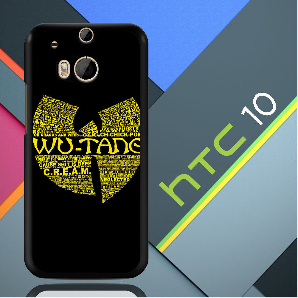 Wu Tang Quote Logo HTC 10 / M10  Case