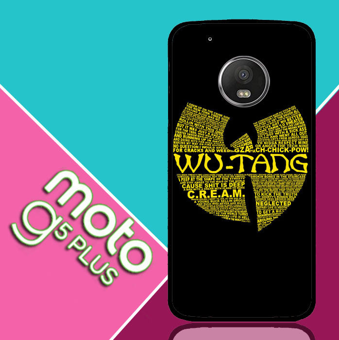Wu Tang Quote Logo Motorola Moto G5 Plus  Case