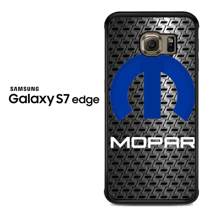 Mopar Black Logo Samsung Galaxy S7 Edge Case