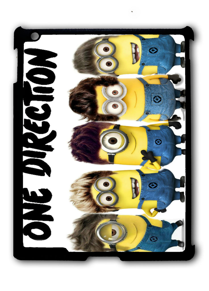 Despicable Me Minion One Direction iPad 2 3 4, iPad Mini 1 2 3 , iPad Air 1 2, iPad Pro 9.7 12.9 Case