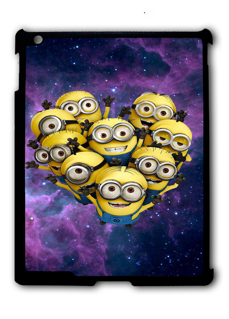 Despicable me Minions Space iPad 2 3 4, iPad Mini 1 2 3 , iPad Air 1 2, iPad Pro 9.7 12.9 Case