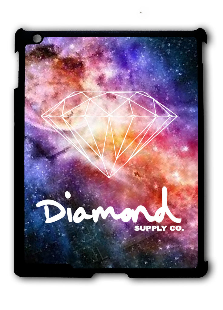 Diamond Supply Co Galaxy Nebula iPad 2 3 4, iPad Mini 1 2 3 , iPad Air 1 2, iPad Pro 9.7 12.9 Case