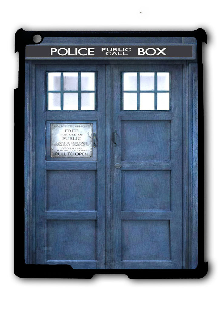 Doctor Who The Tardis iPad 2 3 4, iPad Mini 1 2 3 , iPad Air 1 2, iPad Pro 9.7 12.9 Case