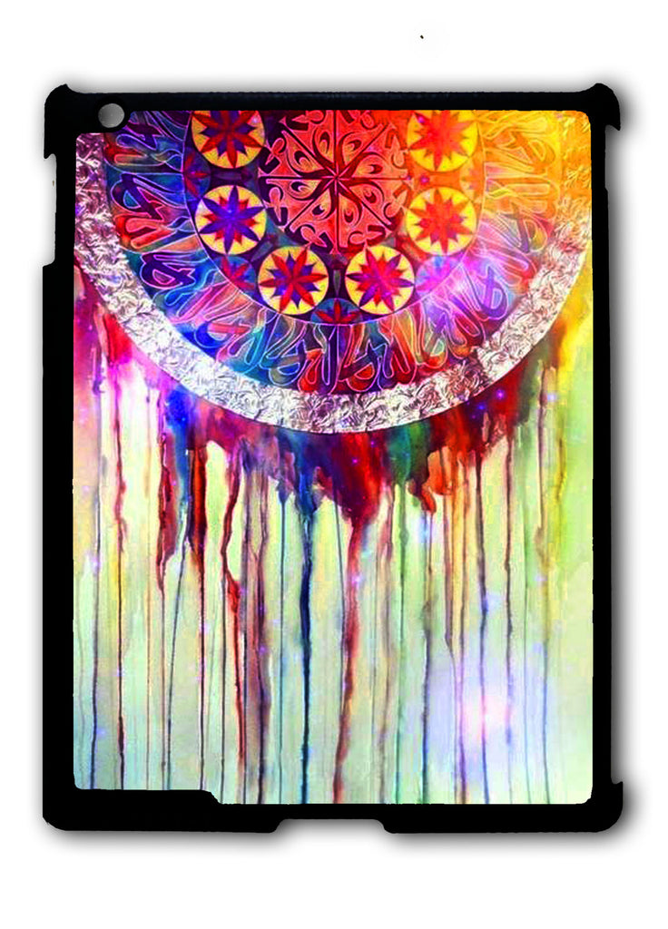 Dream Catcher Watercolor Dripping 2 iPad 2 3 4, iPad Mini 1 2 3 , iPad Air 1 2, iPad Pro 9.7 12.9 Case