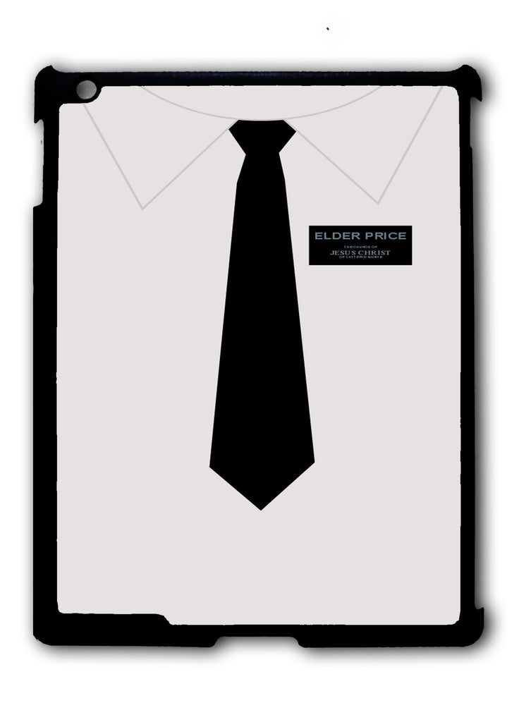 Elder Price Book of Mormon Uniform iPad 2 3 4, iPad Mini 1 2 3 , iPad Air 1 2, iPad Pro 9.7 12.9 Case