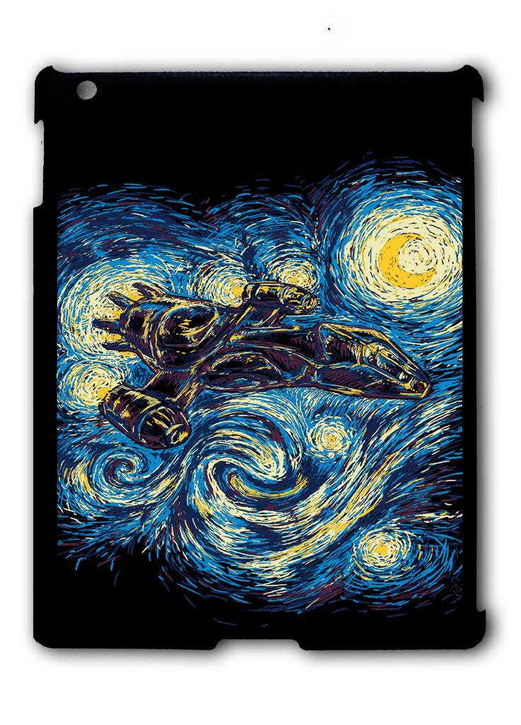 Firefly Serenity Starry Night iPad 2 3 4, iPad Mini 1 2 3 , iPad Air 1 2, iPad Pro 9.7 12.9 Case