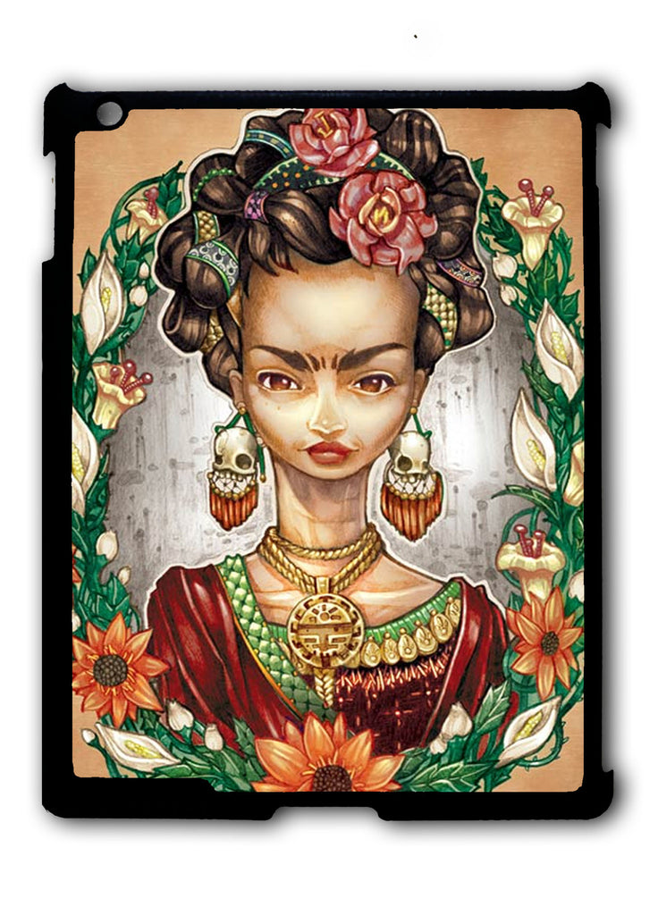 Frida Kahlo Tattoos iPad 2 3 4, iPad Mini 1 2 3 , iPad Air 1 2, iPad Pro 9.7 12.9 Case