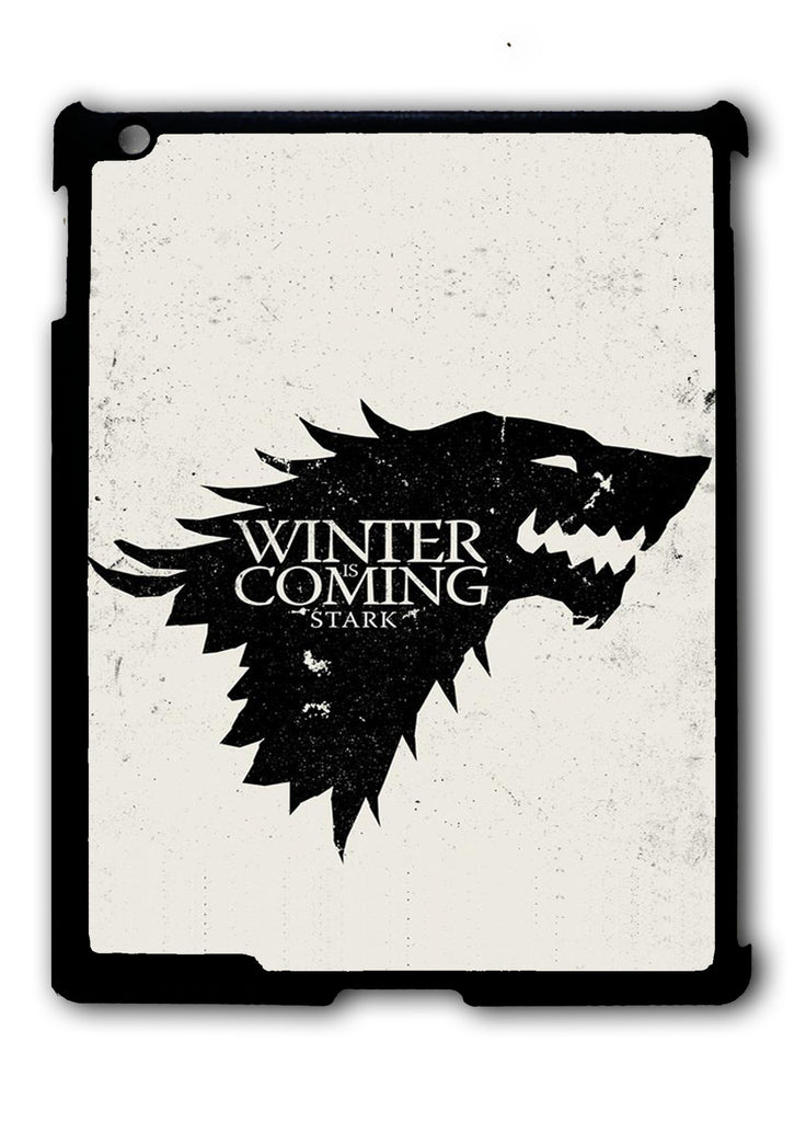 Game Of Thrones Stark - Winter Is Coming iPad 2 3 4, iPad Mini 1 2 3 , iPad Air 1 2, iPad Pro 9.7 12.9 Case