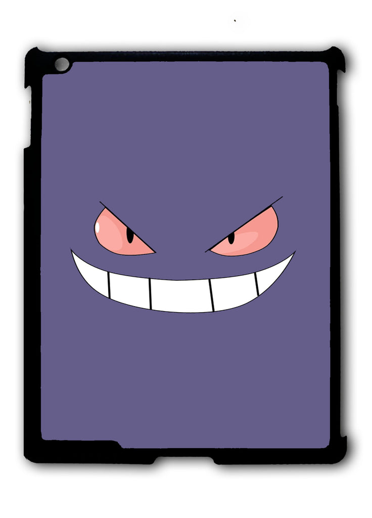 Gengar Face Pokemon iPad 2 3 4, iPad Mini 1 2 3 , iPad Air 1 2, iPad Pro 9.7 12.9 Case