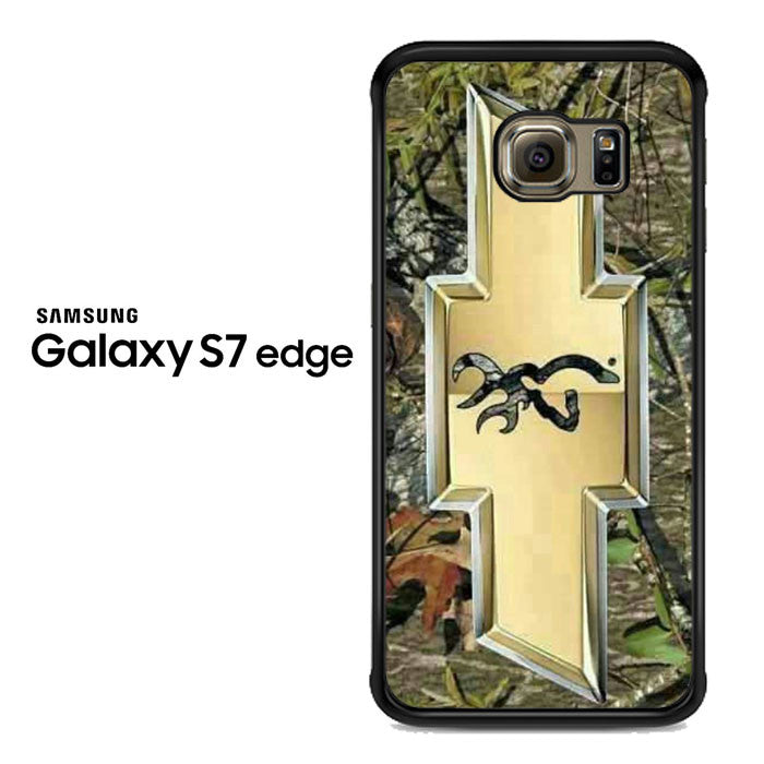 camo browning chevrolet Samsung Galaxy S7 Edge Case