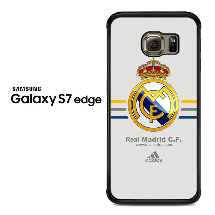 Real Madrid Club de Fútbol La Liga Spanyol Logo Samsung Galaxy S7 Edge Case