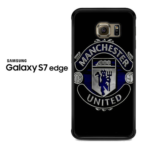 Manchester United Logo Samsung Galaxy S7 Edge Case