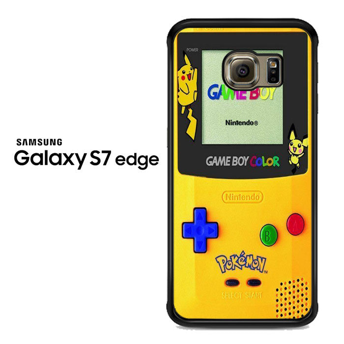 Pokemon Yellow Gameboy Nintendo Samsung Galaxy S7 Edge Case